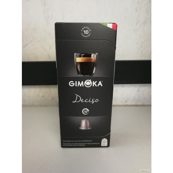 Gimoka Deciso Nespresso kávékapszula 10X5,5 gr.