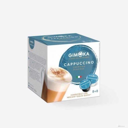 Gimoka Cappuccino Dolce Gusto kávékapszula 8+8db
