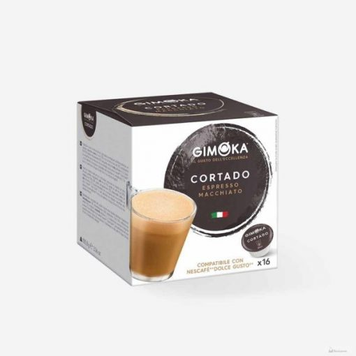 Gimoka Cortado Dolce Gusto kávékapszula 16db