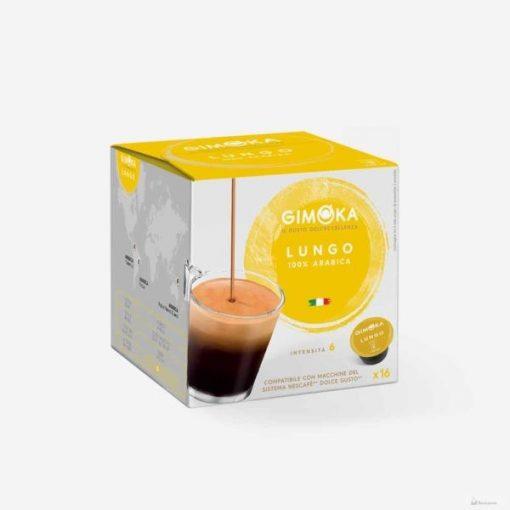 Gimoka Lungo Dolce Gusto kávékapszula 16db