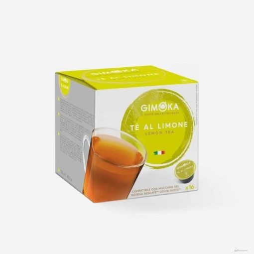 Gimoka Té Al Limone Dolce Gusto kávékapszula 16db