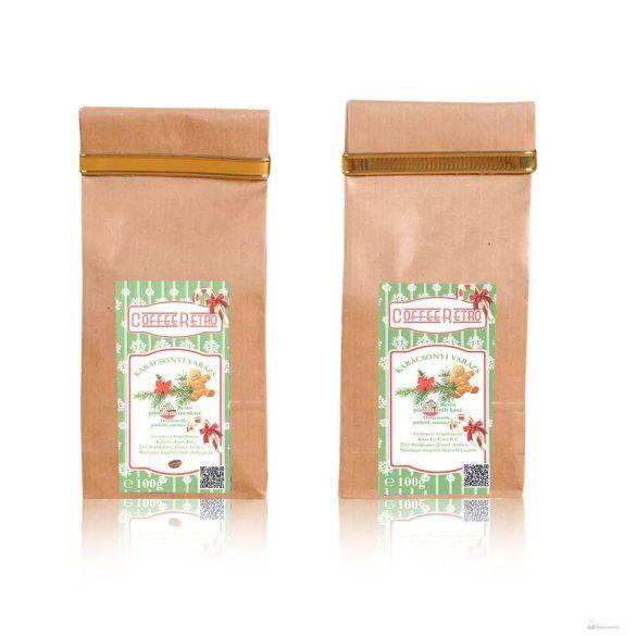 Retro karácsonyi varázs 100gr. őrölt kávé